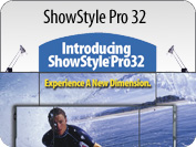 ShowStyle Pro 32 Briefcase Display